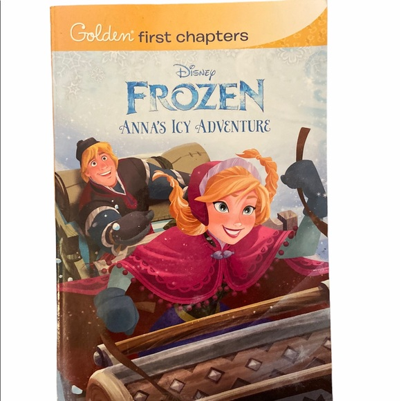 ✨3 for $15✨Frozen Anna Icy Adventure Chapter Book